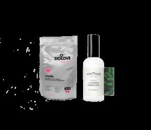 Zestaw ziołowo-hydrolatowy URODA